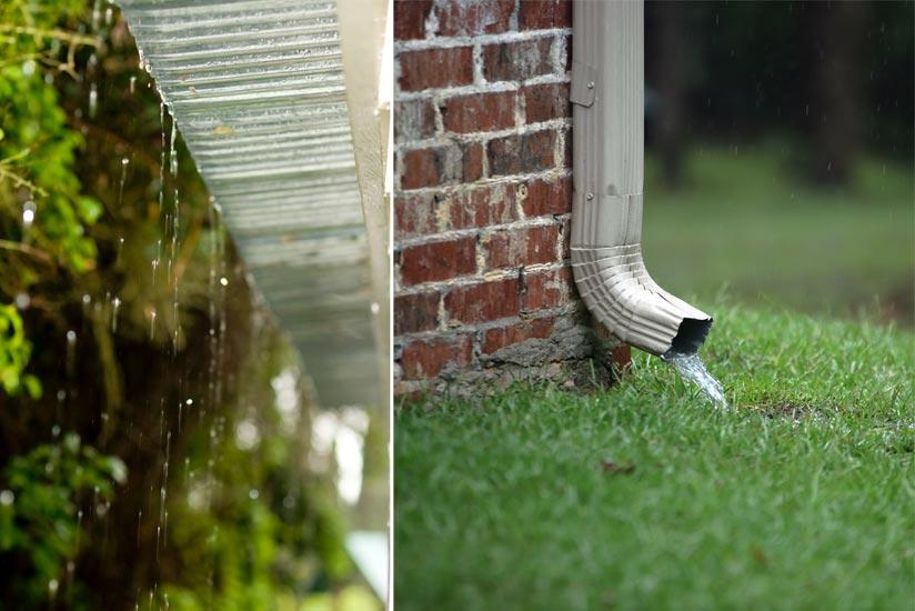 Regenrinne Regen Terrassenüberdachung