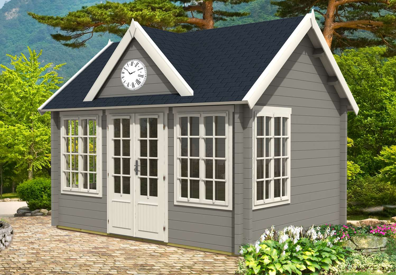 Gartenhaus Modell Clockhouse 28