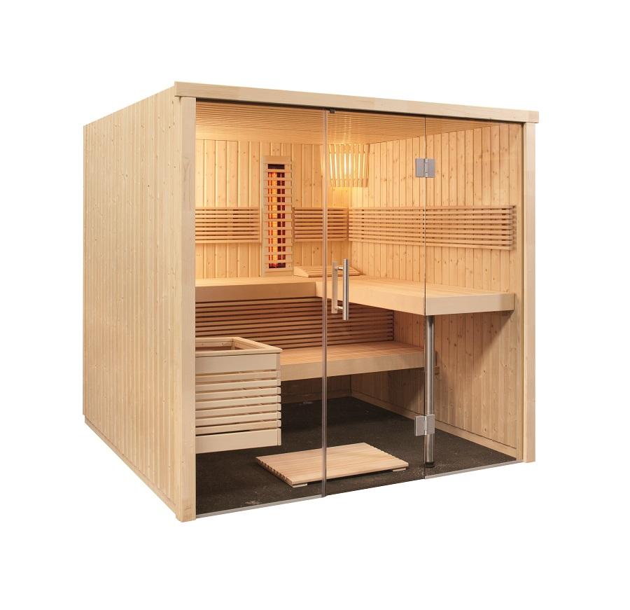 finntherm sauna infrarot kombi infra. Black Bedroom Furniture Sets. Home Design Ideas