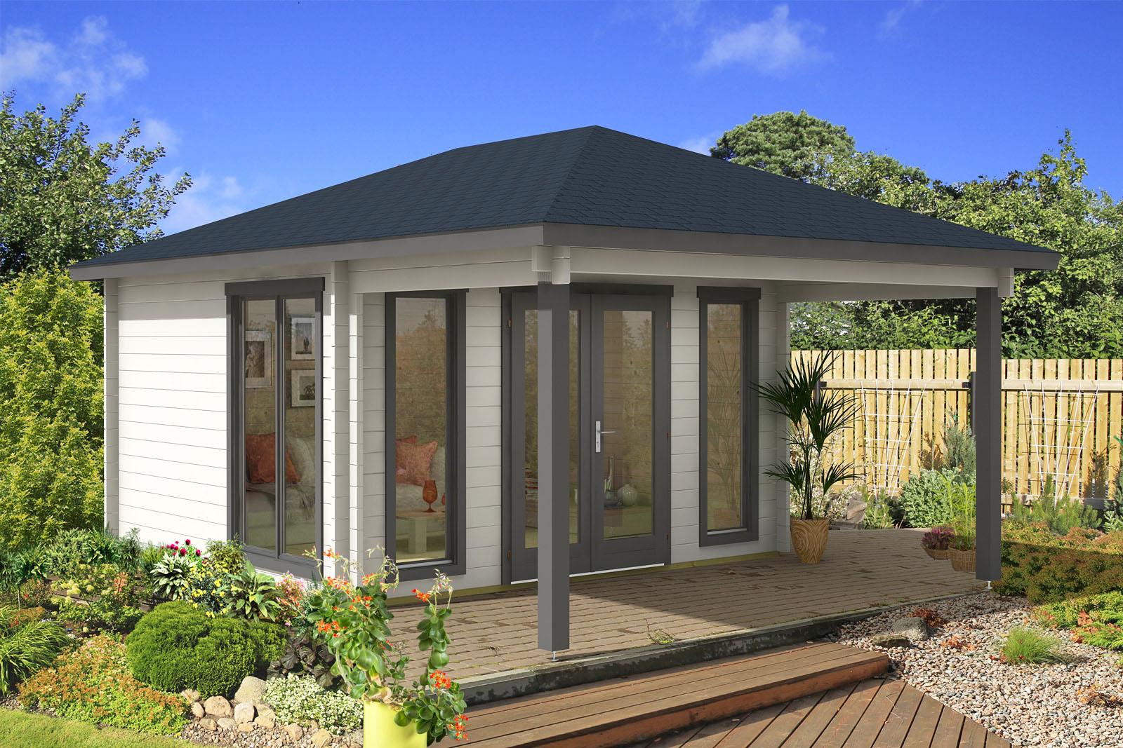 Gartenhaus modell madrid 44 - Sauna premium madrid opiniones ...