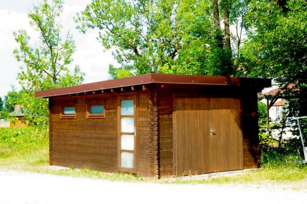 Garage Flachdach