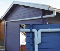 Set 111T (weiß) Ergänzungsset zur einseitigen Entwässerung bis 400 cm
