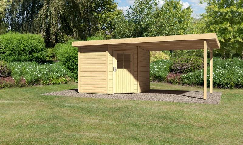 gartenhaus neuruppin 2 mit 295 cm sd. Black Bedroom Furniture Sets. Home Design Ideas