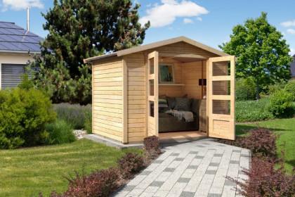 Gartenhaus Mit Satteldach Aus Holz Jetzt Bis Zu 50 Reduziert