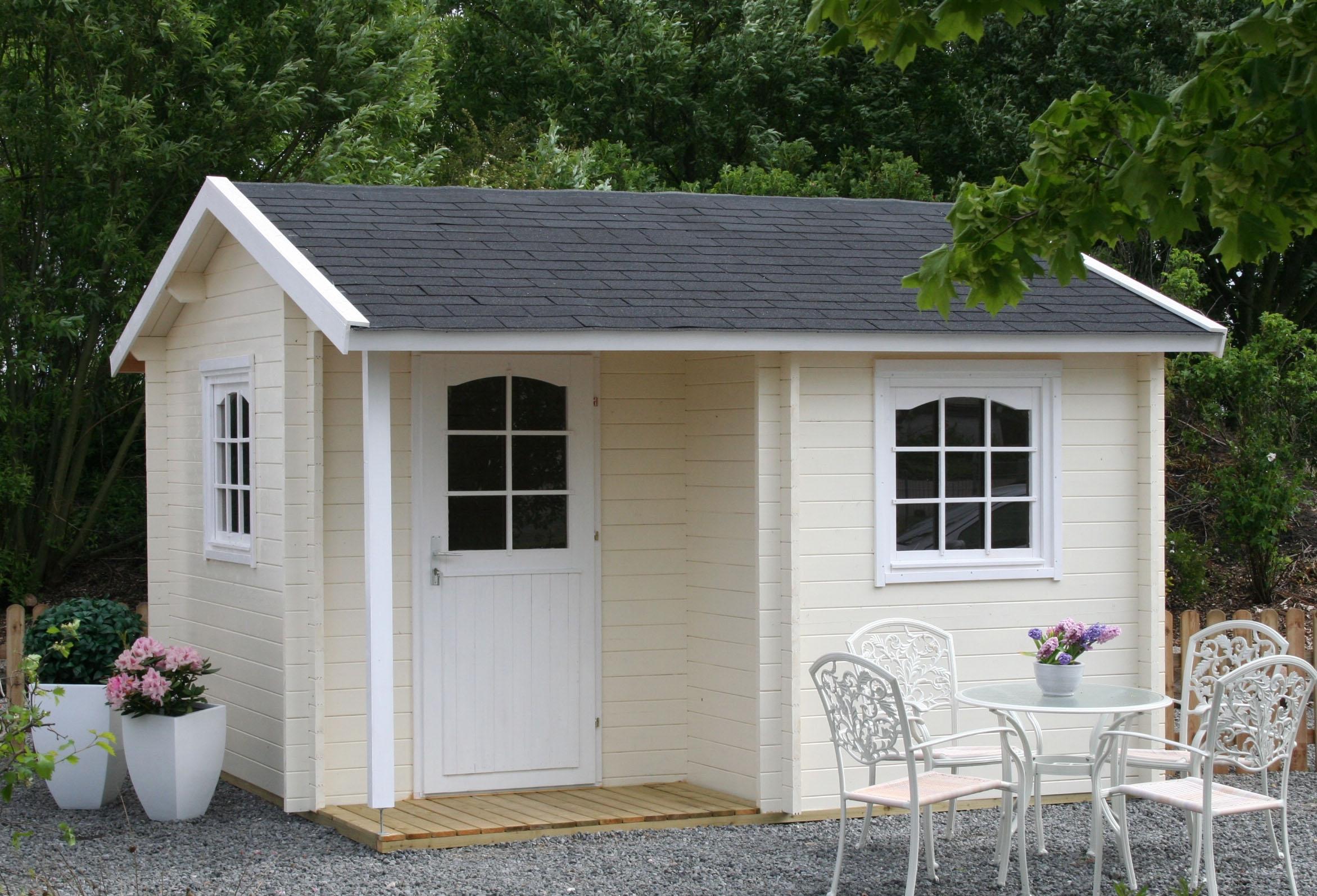 gartenhaus modell mallorca 28. Black Bedroom Furniture Sets. Home Design Ideas