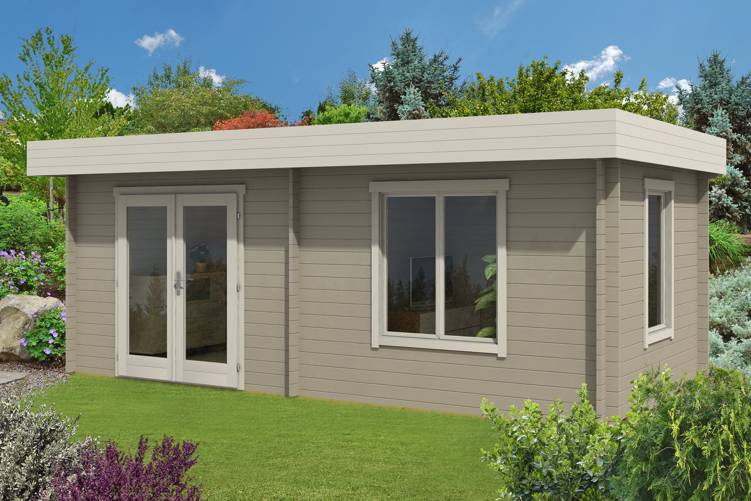 gartenhaus orleans 40 iso a z gartenhaus gmbh. Black Bedroom Furniture Sets. Home Design Ideas