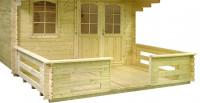 Terrasse 530 x 150 cm / 44 mm