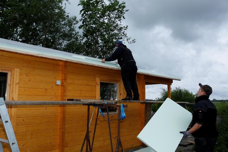Dach Fußboden Dämmen Anleitung ~ Gartenhaus isolieren so dämmen sie fassade dach boden
