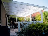 Sonnensegel für Terrassenüberdachung Breite 648cm Tiefe 400cm