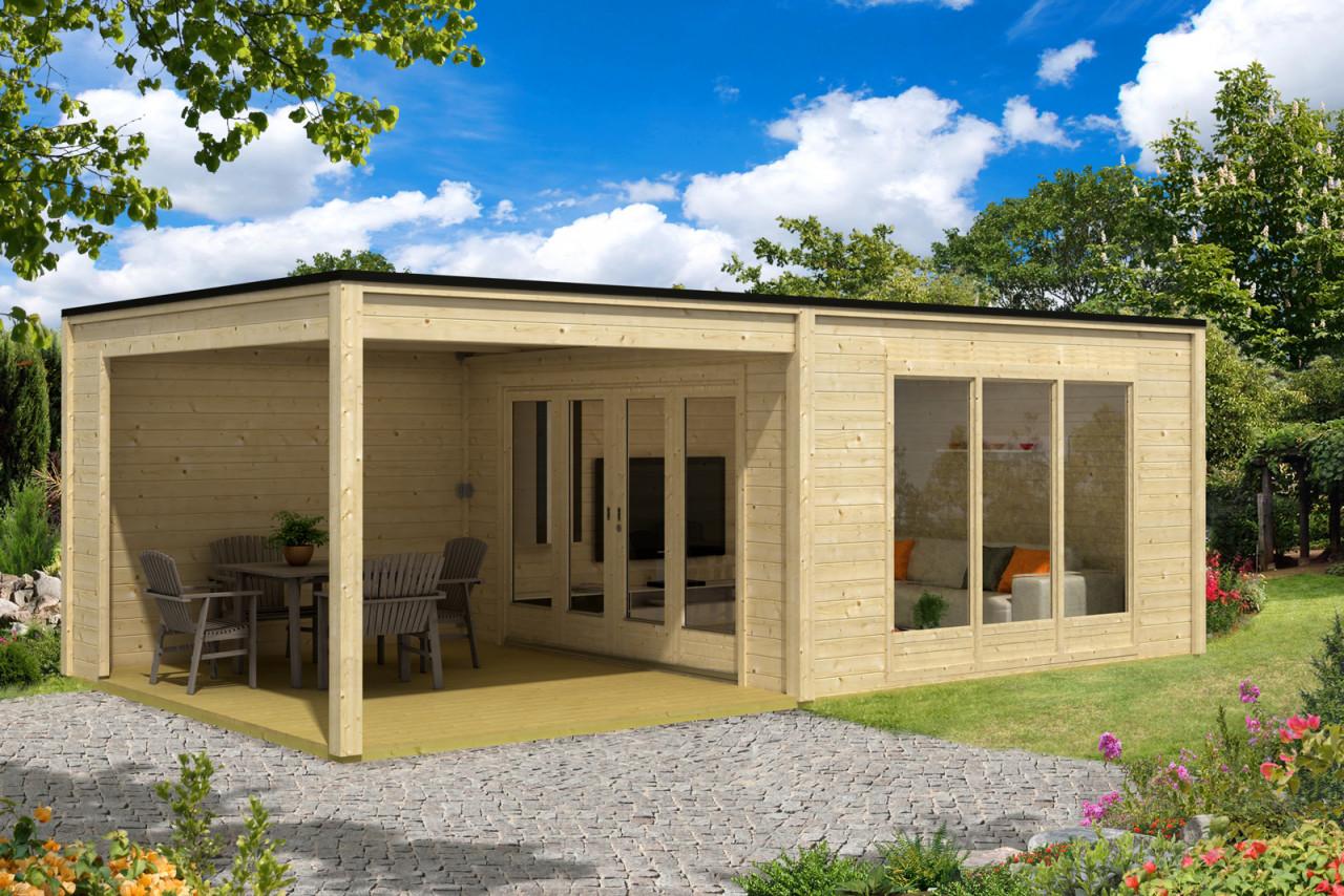 Design gartenhaus cubus plus
