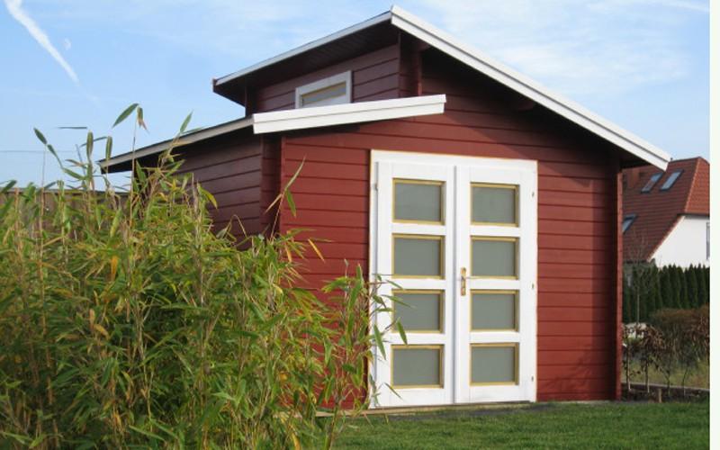 carlsson gartenhaus aktiva. Black Bedroom Furniture Sets. Home Design Ideas