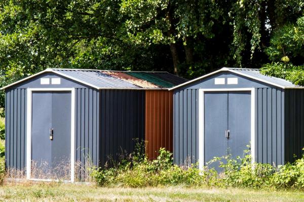 Metallgartenhaus