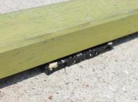 Feuchtigkeitssperre / Gummigranulat Pads (ca. 100 Stück)