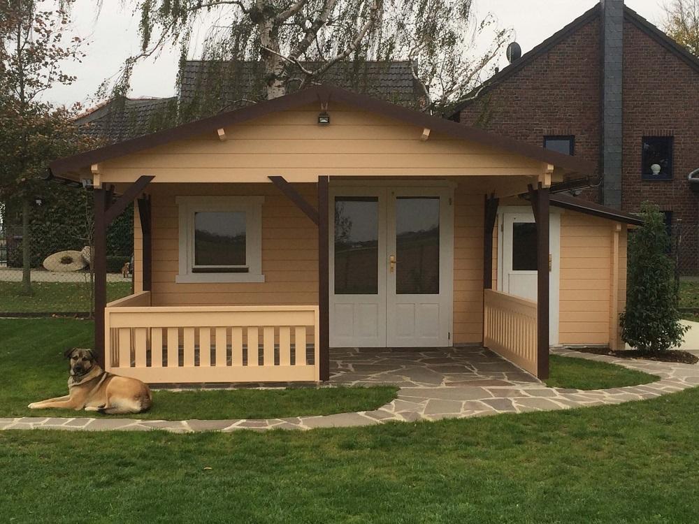 gartenhaus flex 50 b mit 300cm terrasse anbau 4x4 3z. Black Bedroom Furniture Sets. Home Design Ideas