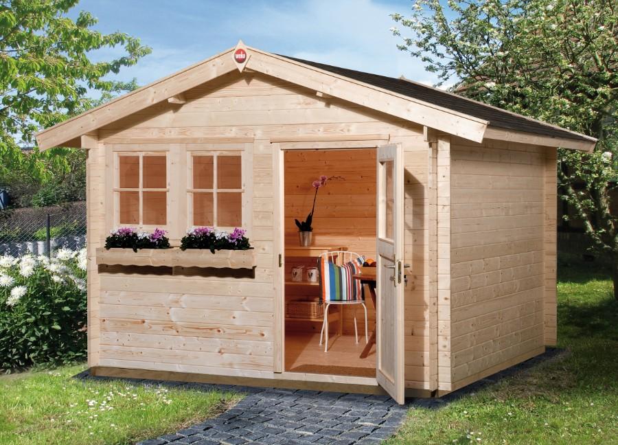weka gartenhaus 139 gr 1 45 mm v20. Black Bedroom Furniture Sets. Home Design Ideas