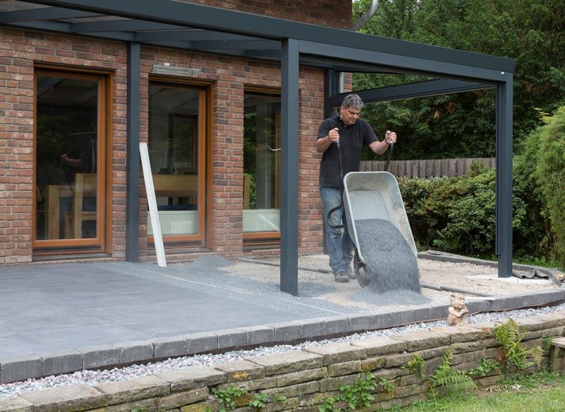 Terrassenplatten Verlegen Tipps Tricks Zum Richtig Verlegen