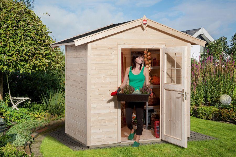 weka gartenhaus 223 gr 1. Black Bedroom Furniture Sets. Home Design Ideas