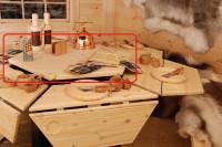 Tischplatte 6-eckig für Grillkota