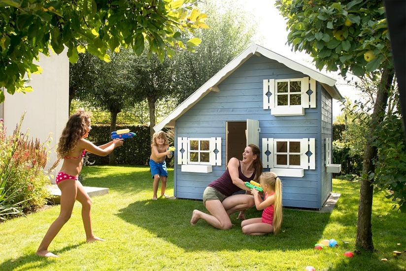 Kinder Spielhaus spielen