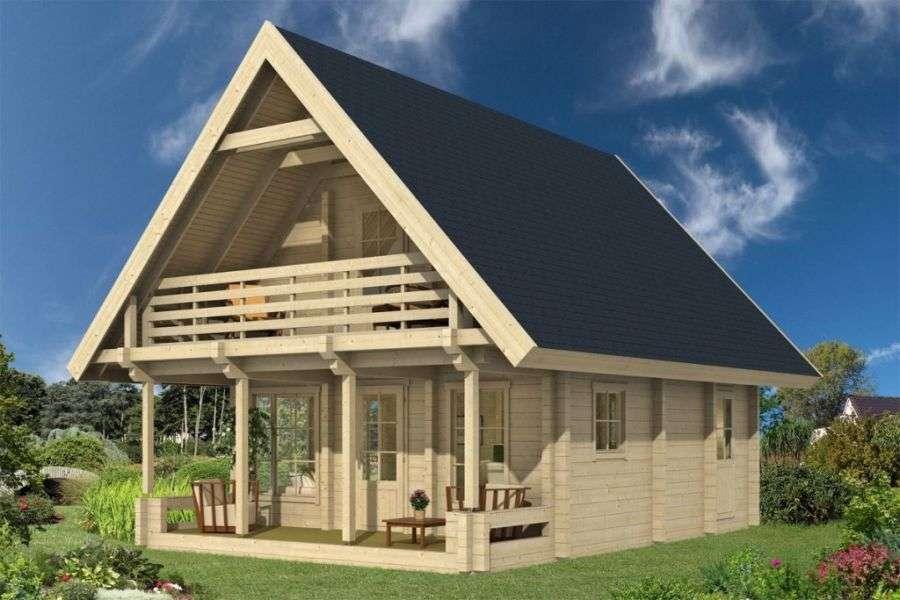 Blockhaus kaufen: Holzhaus und Blockbohlenhaus bis zu  50%