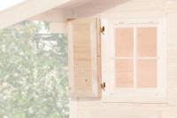 Fensterladen 1-seitig für Fenster 69x79cm