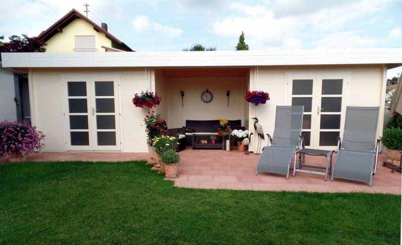 gartenhaus johann 28. Black Bedroom Furniture Sets. Home Design Ideas