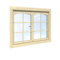 Palmako Doppelfenster 28 mm 119 x 89 cm