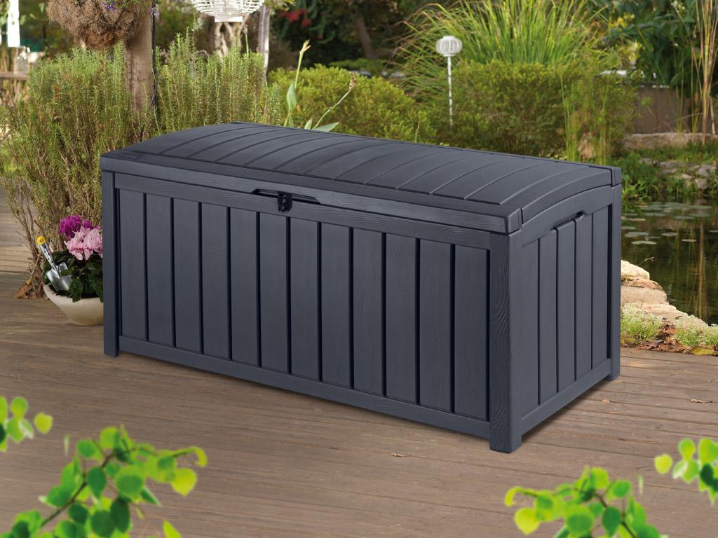 aufbewahrungsbox f r den garten kaufen bis 20 auf. Black Bedroom Furniture Sets. Home Design Ideas