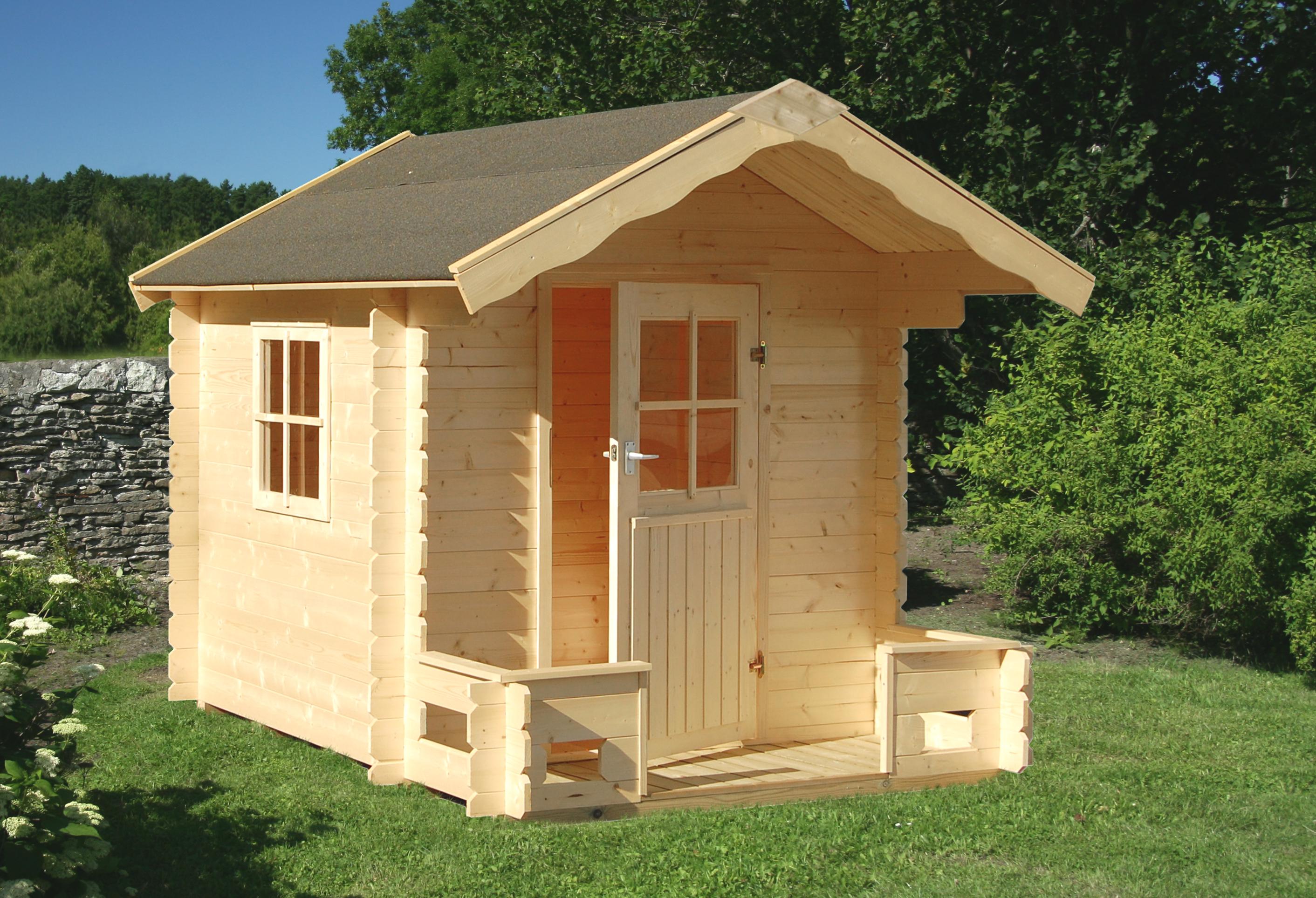 palmako kinderspielhaus sam frc19 1824. Black Bedroom Furniture Sets. Home Design Ideas