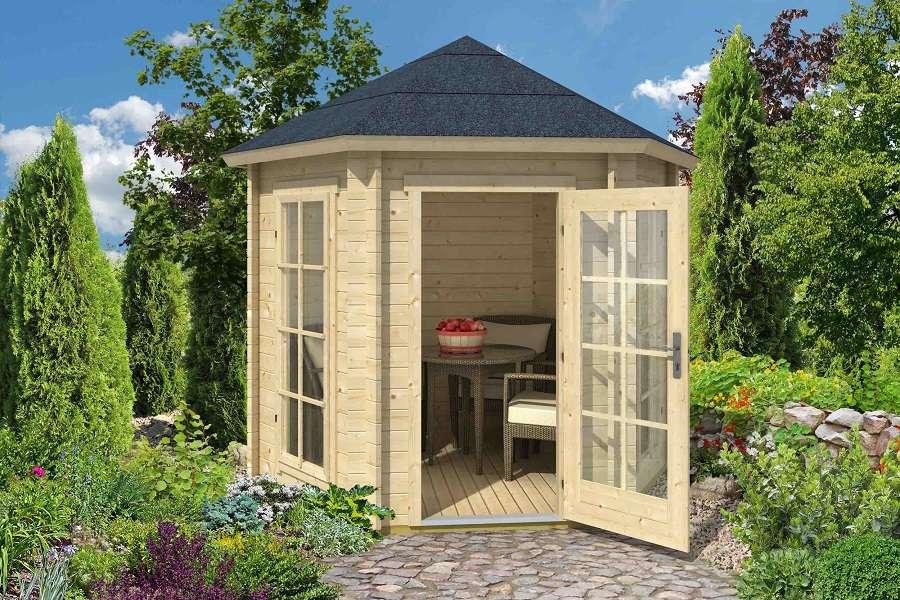 gartenpavillon aus holz kaufen – gartenlauben vom fachmann, Hause deko