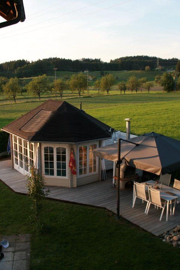 gartenpavillon sumatra 44 iso mit gro er faltt r. Black Bedroom Furniture Sets. Home Design Ideas
