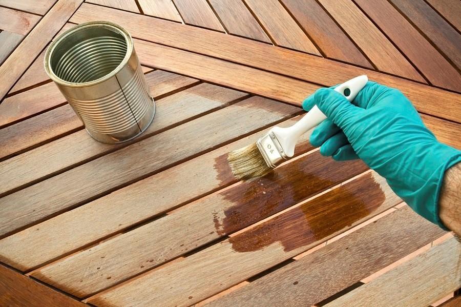 Fabulous Terrassendielen streichen: So ölen und pflegen Sie Ihre Terrasse YC71