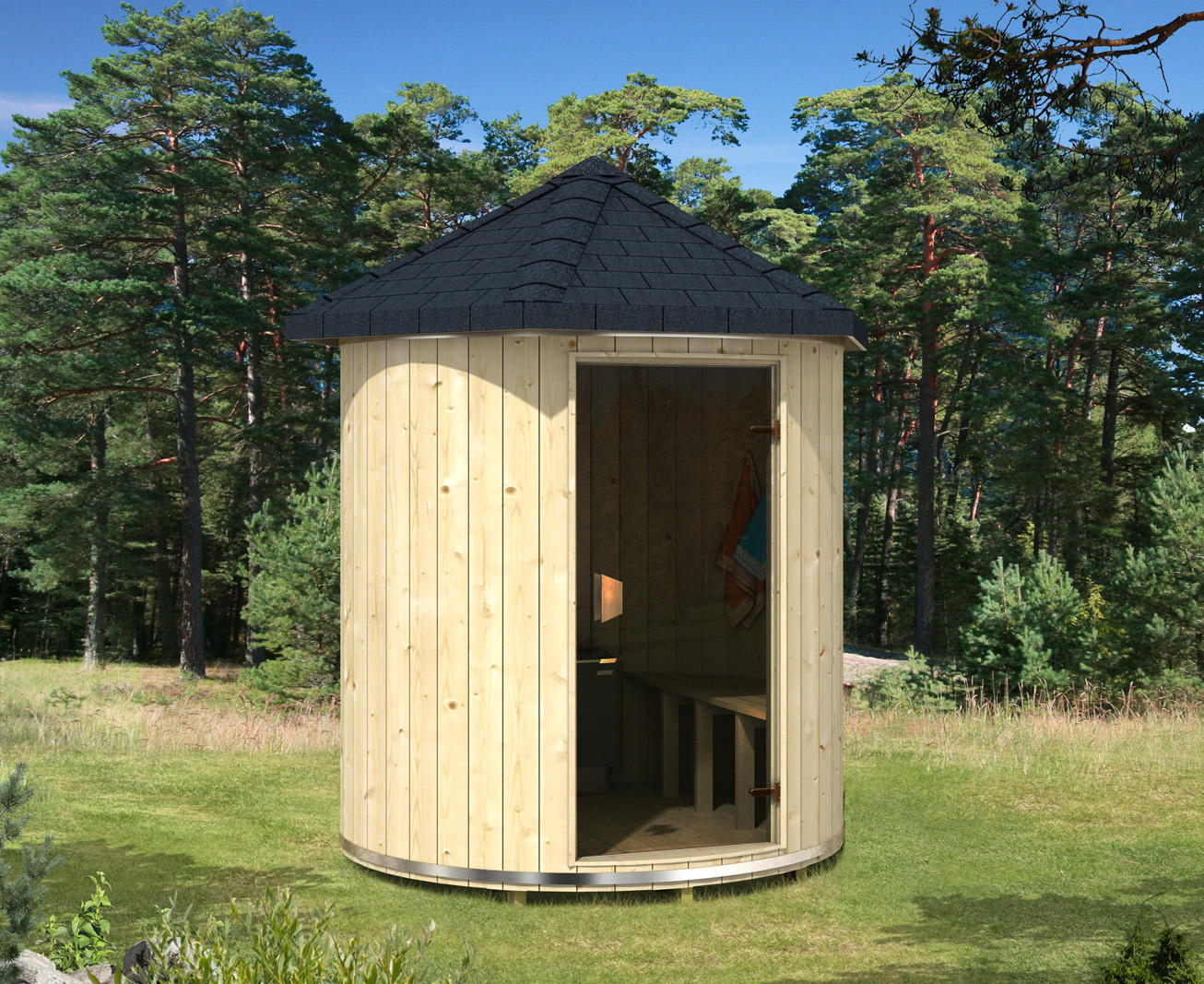 finntherm saunatonne lucas. Black Bedroom Furniture Sets. Home Design Ideas