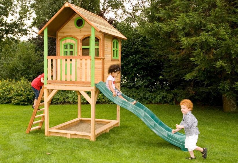 Klettergerüst Holz Streichen : Kinderspielgeräte garten: holz kunststoff oder metall?