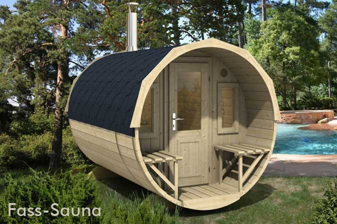 Sauna Im Freien outdoor-sauna im garten: tipps rund ums saunahaus