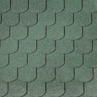 Dachschindeln Biberschwanz grün, 3m²