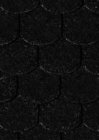 Karibu Biberschwanzschindeln schwarz