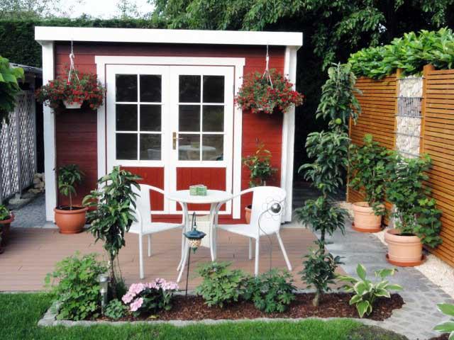carlsson gartenhaus maria. Black Bedroom Furniture Sets. Home Design Ideas