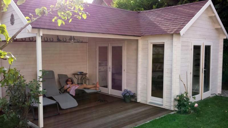 gartenhaus holly 44 iso. Black Bedroom Furniture Sets. Home Design Ideas