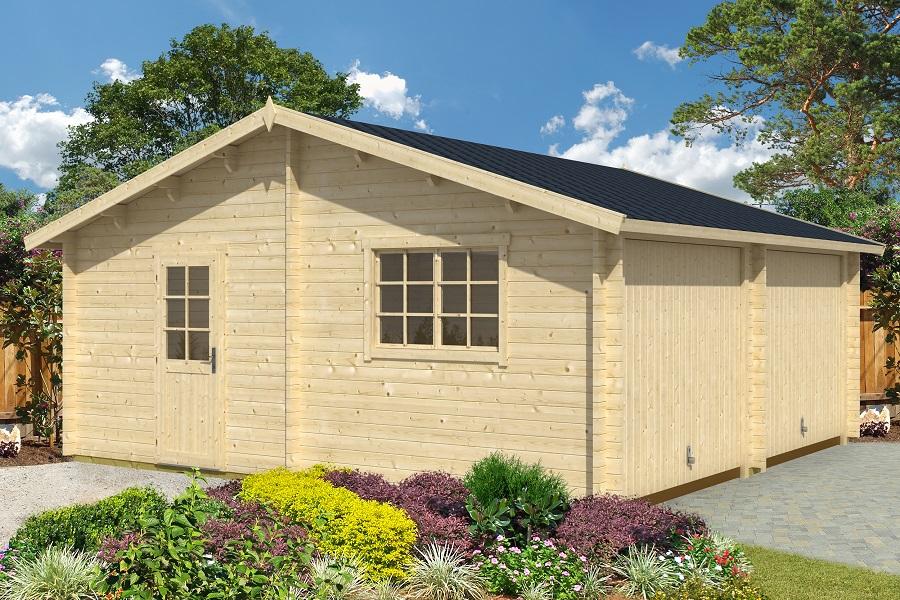 lasita maja garage kaufen marken holzgarage jetzt mit bis. Black Bedroom Furniture Sets. Home Design Ideas