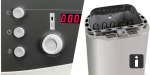 Sauna Basis-Set mit BioAktiv Kombiofen 7,5 kW