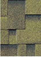 Karibu Dachschindeln Asymmetrisch Zedernholz-Look
