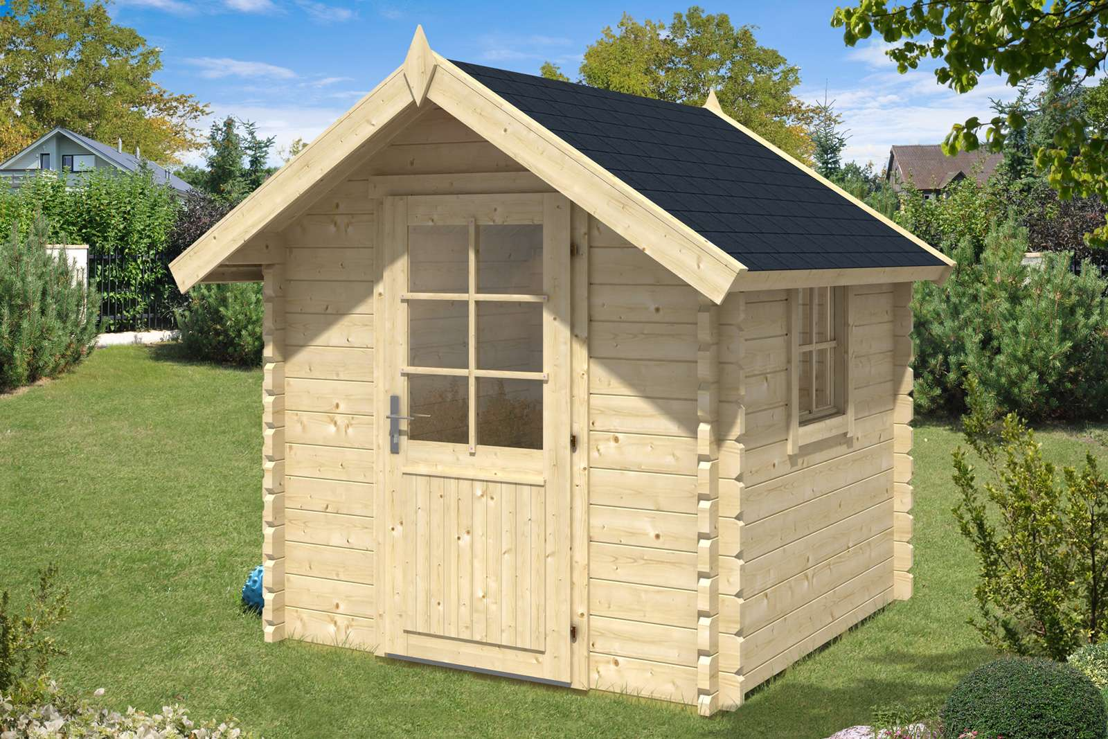 Gartenhaus kaufen: Bis 30.06. Holz-Gartenhaus bis zu -50%