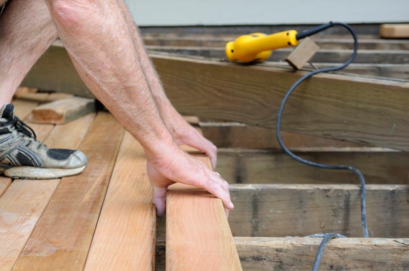 Terrassendielen verlegen: Anleitung zum Nachmachen