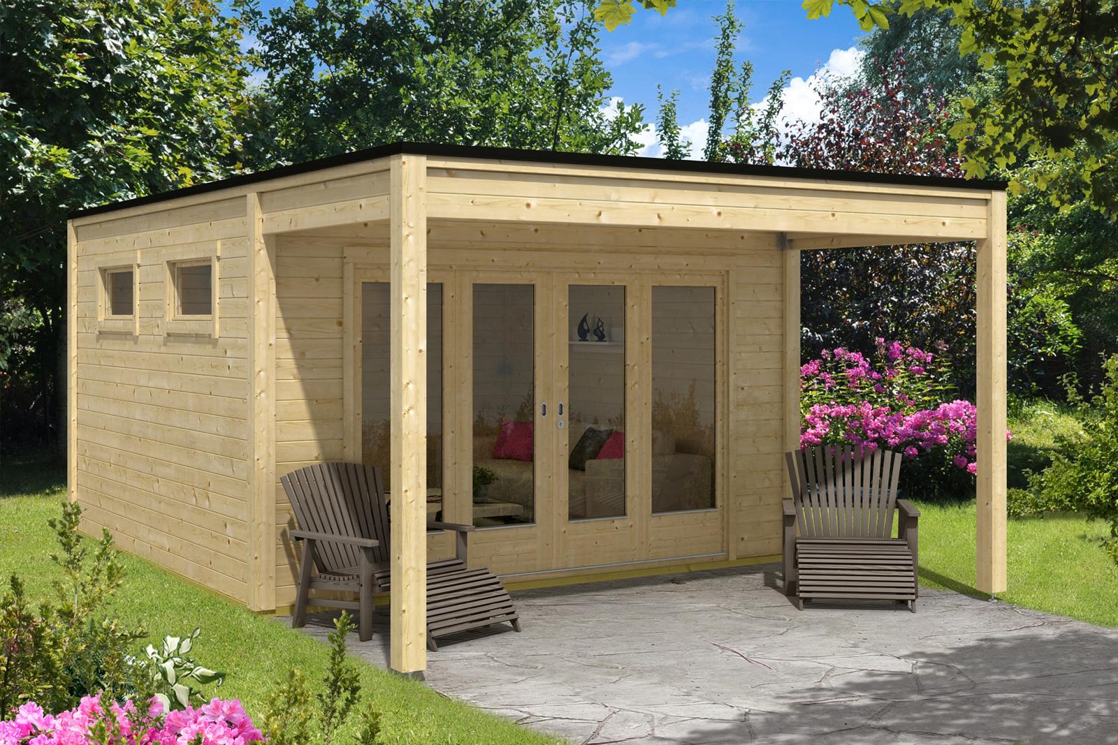 design gartenhaus cubus saturn40. Black Bedroom Furniture Sets. Home Design Ideas