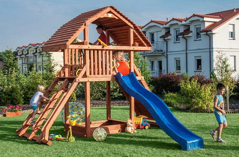 Kinderspielgeräte Garten Holz Kunststoff Oder Metall