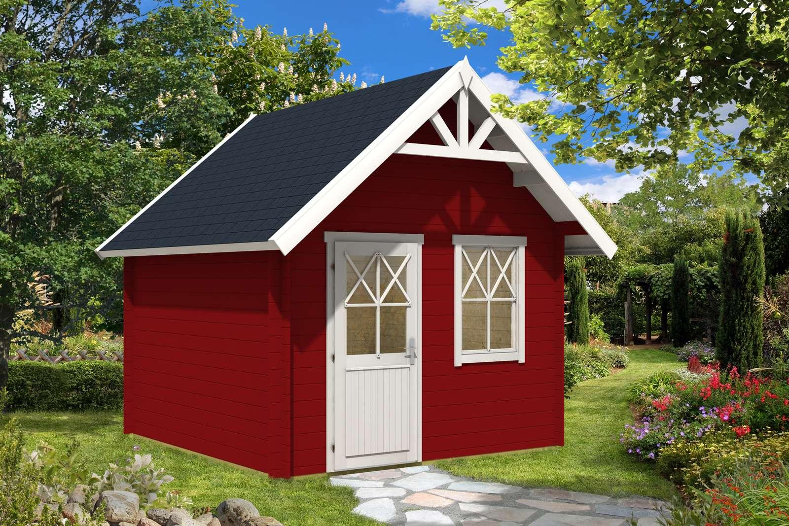 Schwedenhaus farben bedeutung  Schwedenhaus 44 ISO - A-Z Gartenhaus GmbH