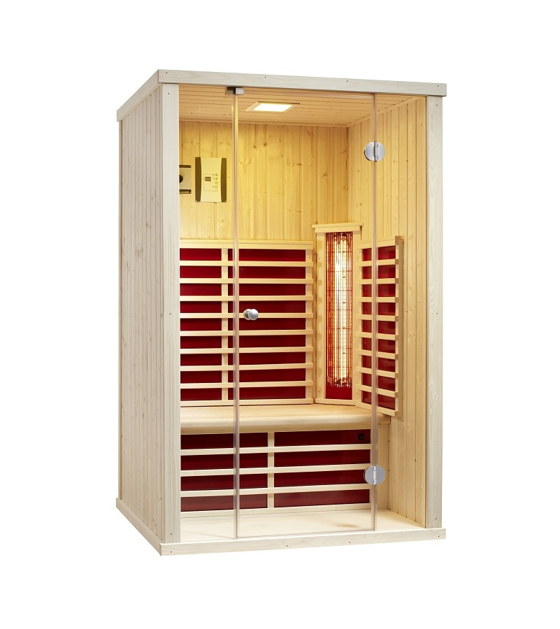 infraworld infrarotkabine vario glas 125 390105. Black Bedroom Furniture Sets. Home Design Ideas