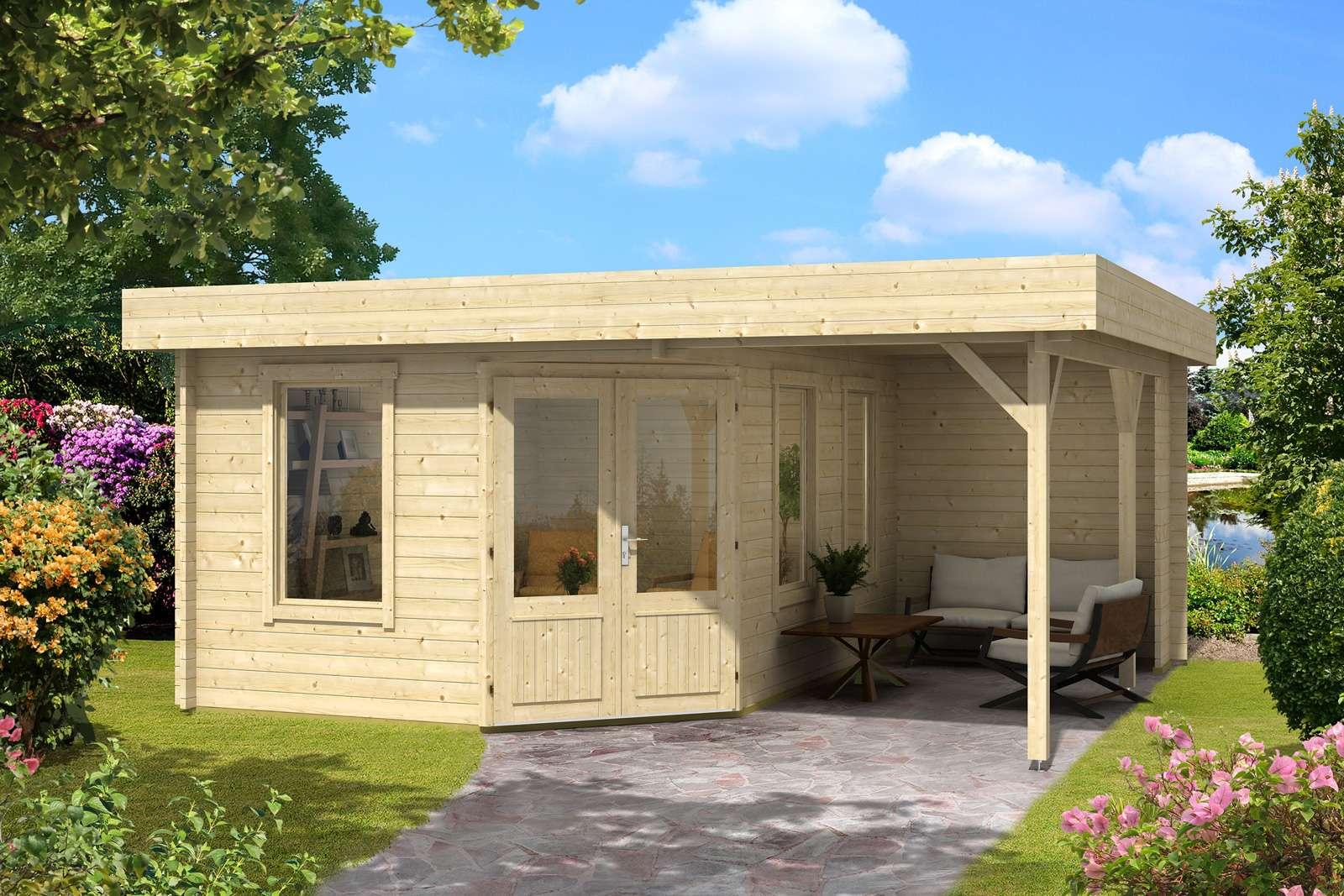 5 eck gartenhaus mit schleppdach my blog. Black Bedroom Furniture Sets. Home Design Ideas