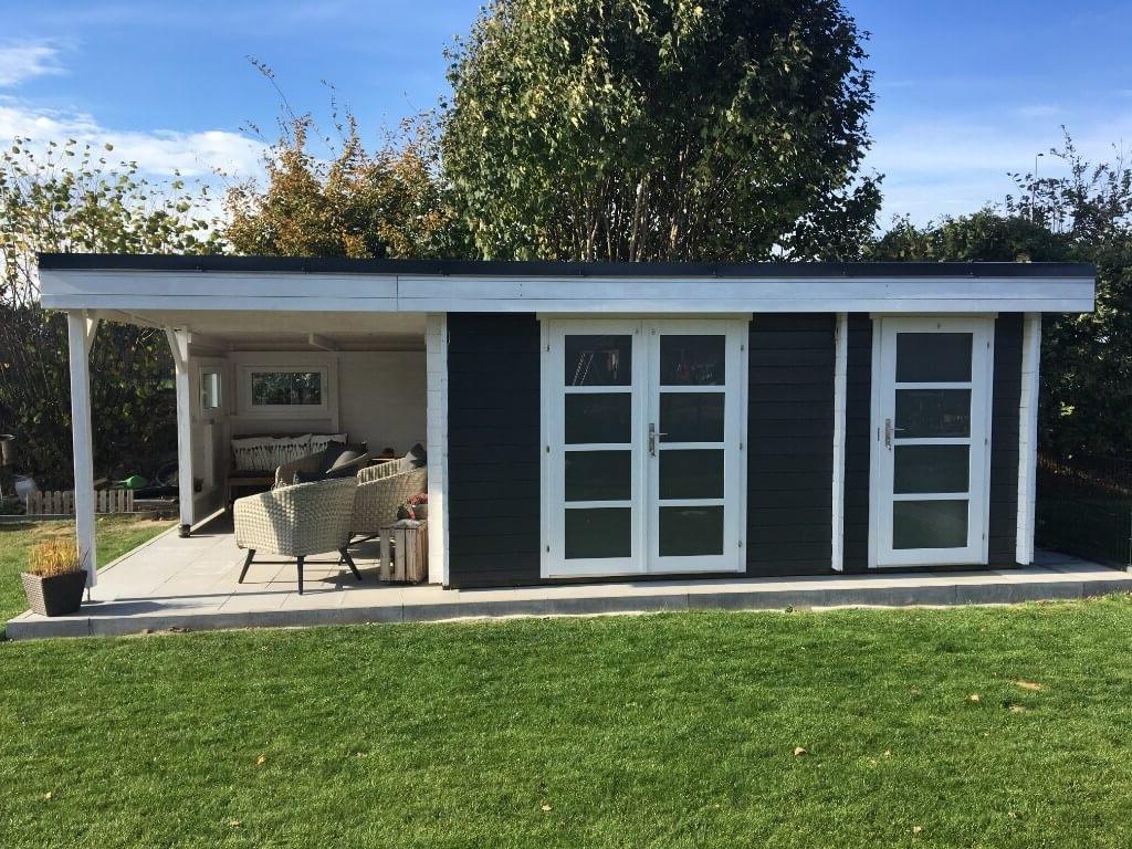 gartenhaus modern e mit schleppdach. Black Bedroom Furniture Sets. Home Design Ideas